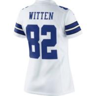 Dallas Cowboys Womens Jason Witten #82 Nike White Limited Jersey