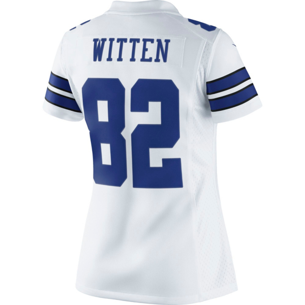 Dallas Cowboys Womens Jason Witten #82 Nike White Limited Jersey