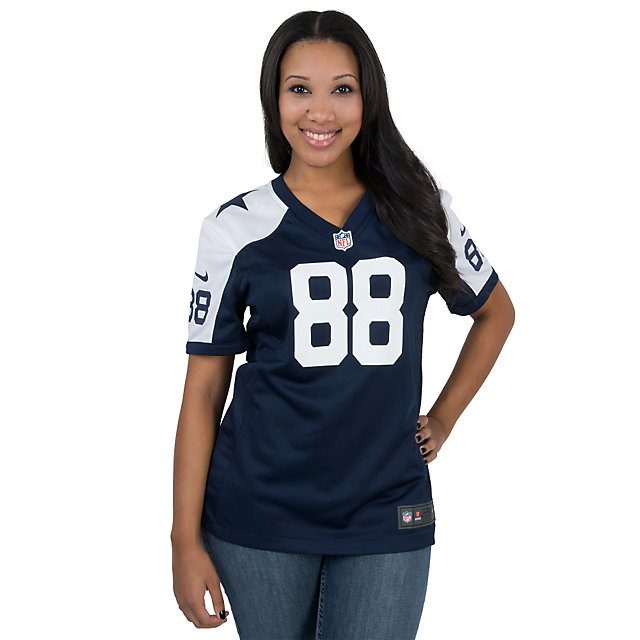 Dallas Cowboys Womens Dez Bryant #88 Nike Game Throwback Jersey