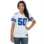 Dallas Cowboys Womens Sean Lee #50 Nike White Limited Jersey