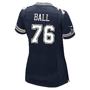 Dallas Cowboys Womens Custom Nike Navy Game Replica Jersey