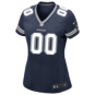 Dallas Cowboys Womens Custom Nike Navy Game Replica Jersey