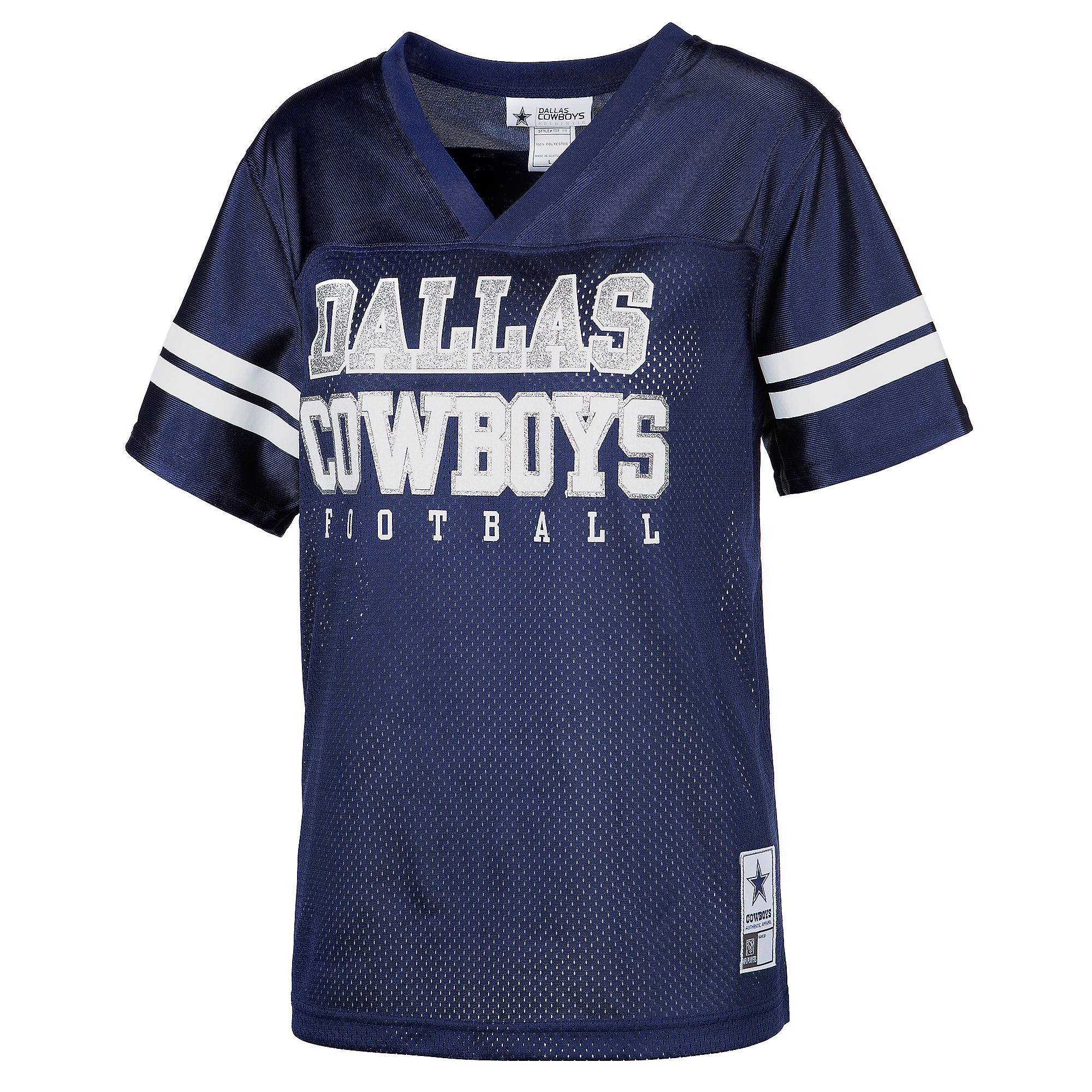 f53902f3 Dallas Cowboys Womens Custom Glitter Jersey | Dallas Cowboys Pro Shop