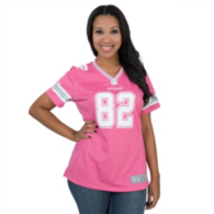 Dallas Cowboys Women's Jason Witten #82 Pink Jersey