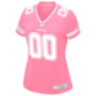 Dallas Cowboys Women's Custom Pink Replica Jersey