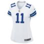 Dallas Cowboys Womens Cole Beasley #11 Nike White Game Replica Jersey