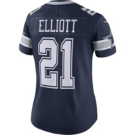 Dallas Cowboys Womens Ezekiel Elliott #21 Nike Vapor Untouchable Navy Limited Jersey