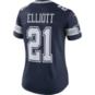 Dallas Cowboys Womens Ezekiel Elliott #21 Nike Vapor Untouchable Navy Limited Jersey