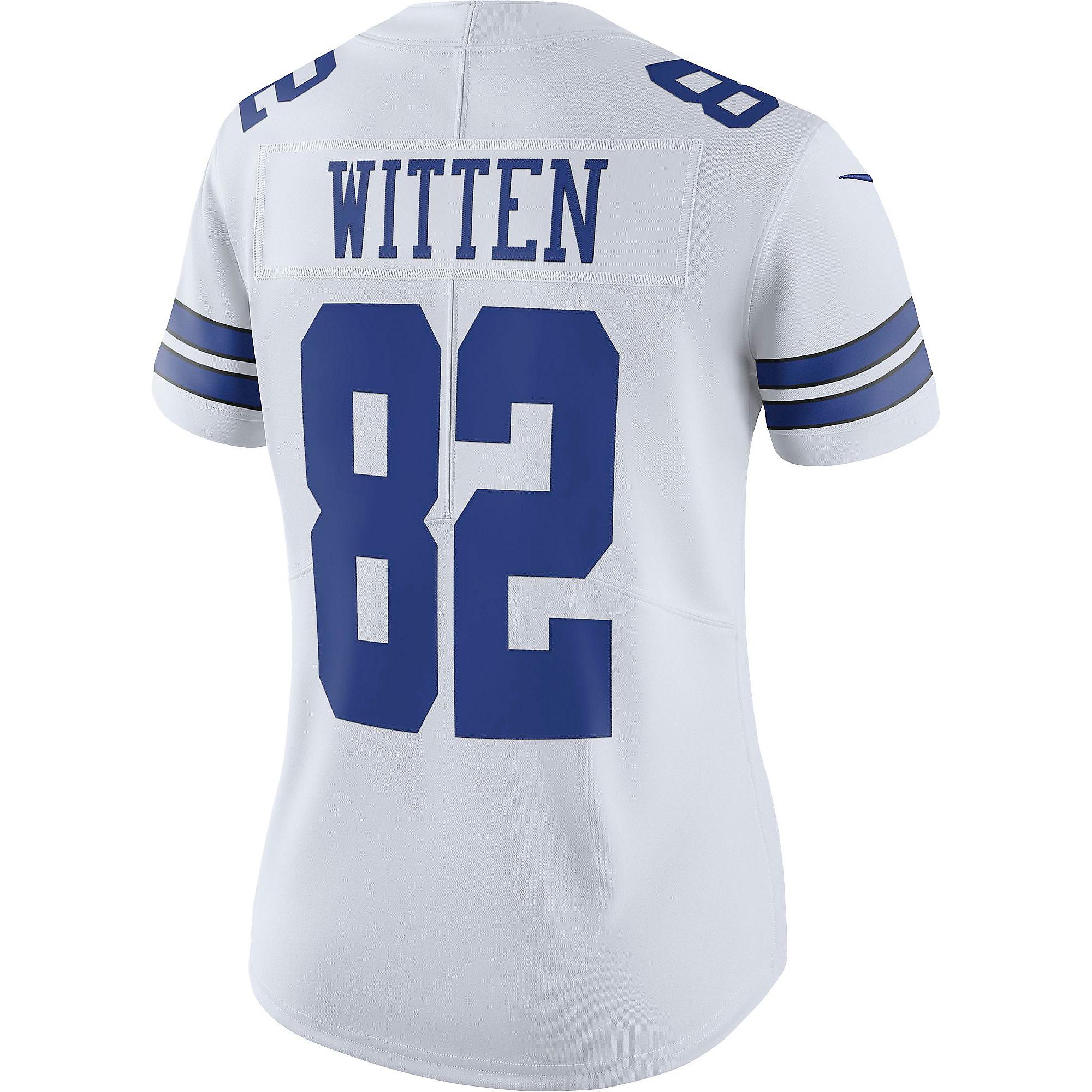 ed8f11d637c Dallas Cowboys Womens Jason Witten 82 Nike Vapor Untouchable White Limited  Jersey | Dallas Cowboys Pro Shop