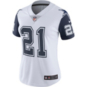 Dallas Cowboys Womens Ezekiel Elliott #21 Nike XC2 Color Rush Jersey