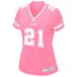 Dallas Cowboys Womens Ezekiel Elliott #21 Pink Jersey