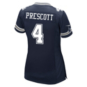 Dallas Cowboys Womens Dak Prescott Nike Navy Game Replica Jersey