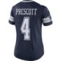 Dallas Cowboys Womens Dak Prescott #4 Nike Navy Vapor Untouchable Limited Jersey