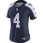 Dallas Cowboys Womens Dak Prescott Nike Vapor Untouchable Limited Throwback Jersey