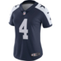 Dallas Cowboys Womens Dak Prescott Nike Vapor Untouchable Limited Throwback Jersey