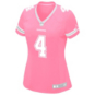 Dallas Cowboys Womens Dak Prescott #4 Pink Jersey