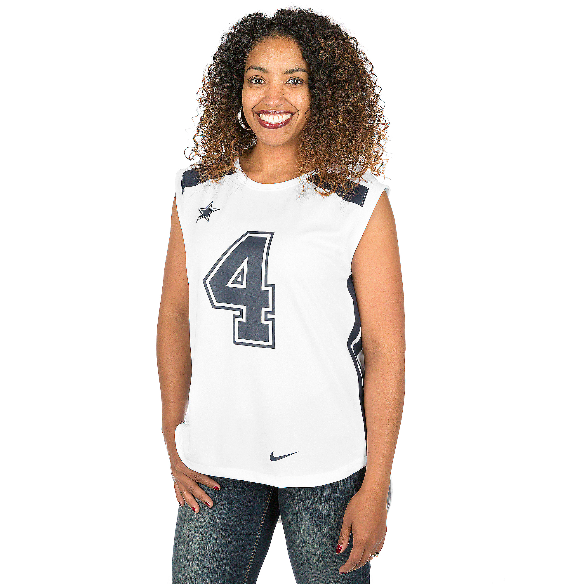Discount Dallas Cowboys Womens Dak Prescott #4 Nike Player Tank | Dallas  supplier