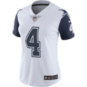 Dallas Cowboys Womens Dak Prescott #4 Nike Limited Color Rush Jersey