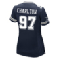 Dallas Cowboys Womens Taco Charlton Nike Navy Game Replica Jersey
