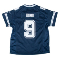 Dallas Cowboys Kids Tony Romo #9 Nike Game Replica Jersey