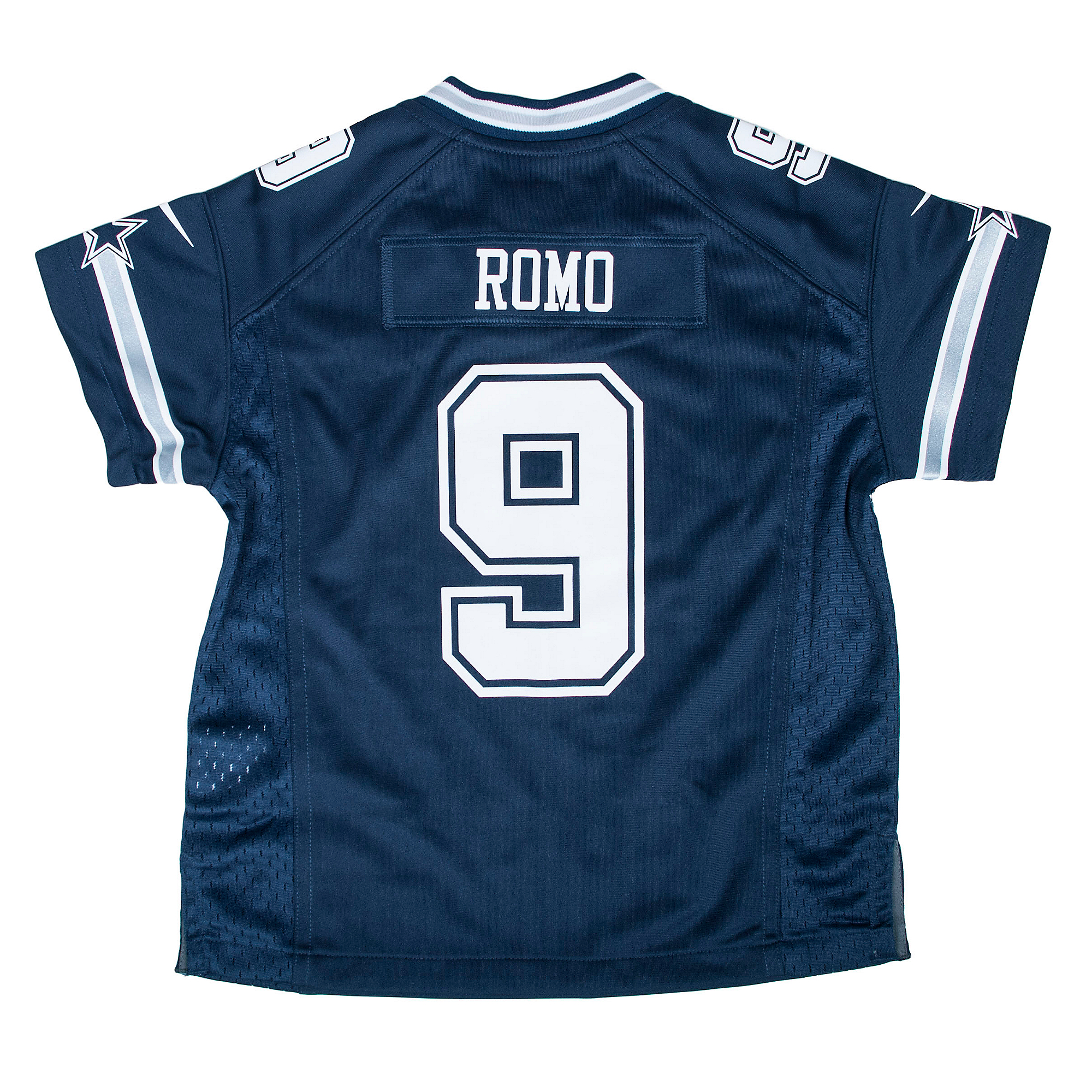 reputable site 611c0 5a556 Dallas Cowboys Kids Tony Romo #9 Nike Game Replica Jersey