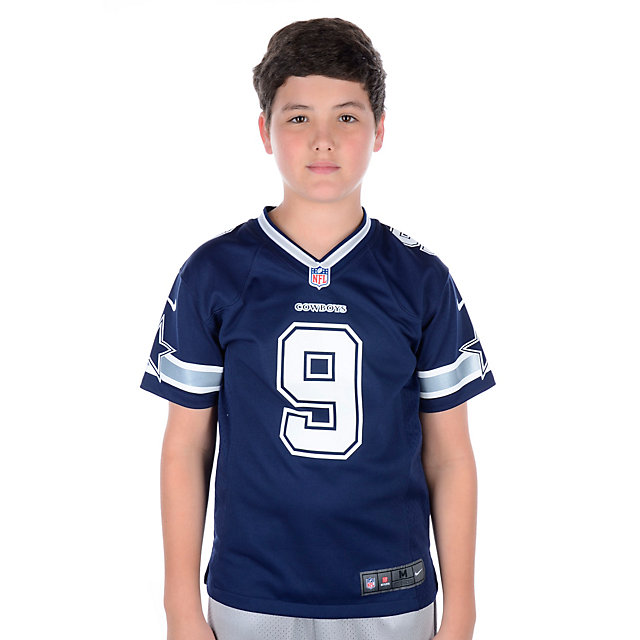 Dallas Cowboys Youth Tony Romo #9 Nike Game Replica Jersey