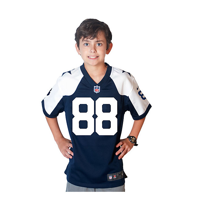 Dallas Cowboys Youth Dez Bryant Nike Game Throwback Jersey