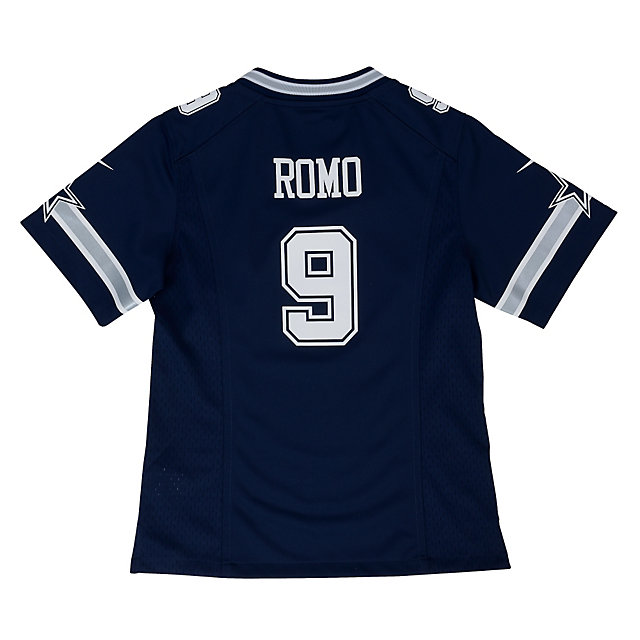 Dallas Cowboys Girls Tony Romo #9 Nike Game Replica Jersey