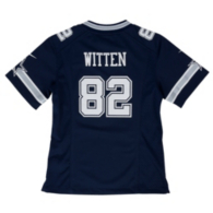 Dallas Cowboys Girls Jason Witten #82 Nike Game Replica Jersey