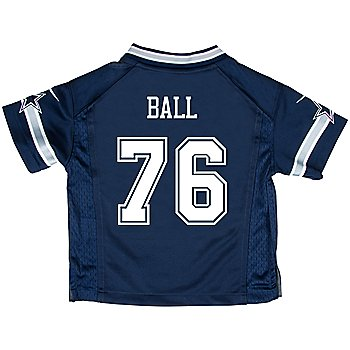 Dallas Cowboys Kids Custom Nike Navy Game Replica Jersey