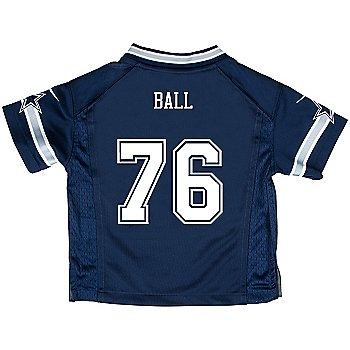 Dallas Cowboys Toddler Custom Nike Navy Game Replica Jersey