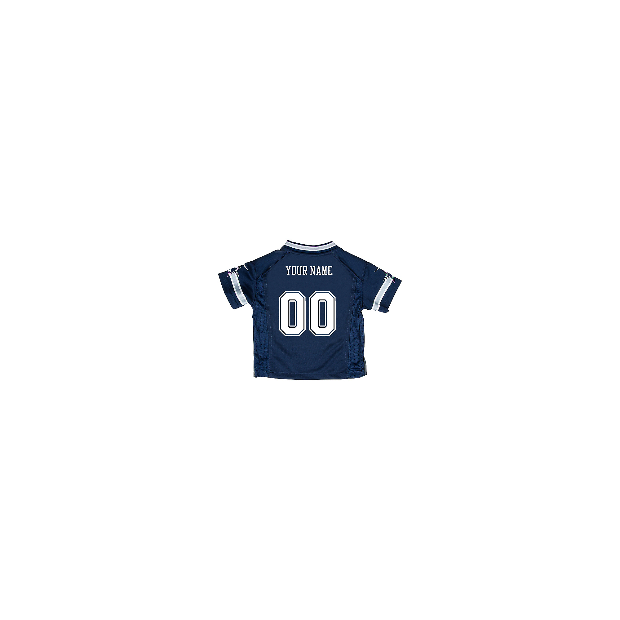 Dallas Cowboys Toddler Custom Nike Navy Game Replica Jersey
