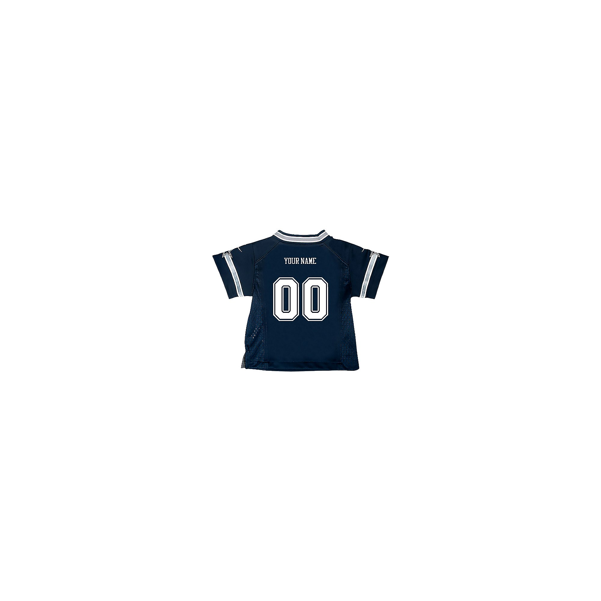 Dallas Cowboys Infant Custom Nike Navy Game Replica Jersey