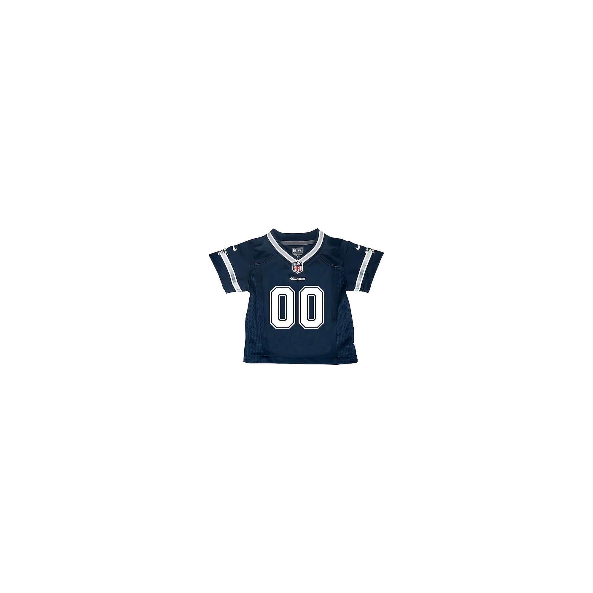 size 40 4843f 49f9d Dallas Cowboys Infant Custom Nike Navy Game Replica Jersey | Dallas Cowboys  Pro Shop