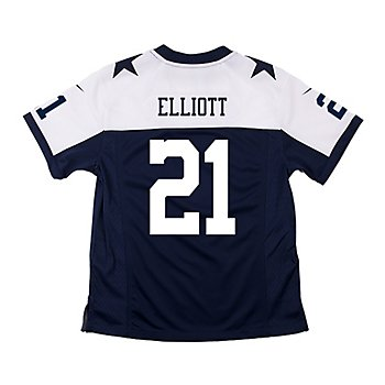 Dallas Cowboys Youth Ezekiel Elliott #21 Nike Game Replica Throwback Jersey