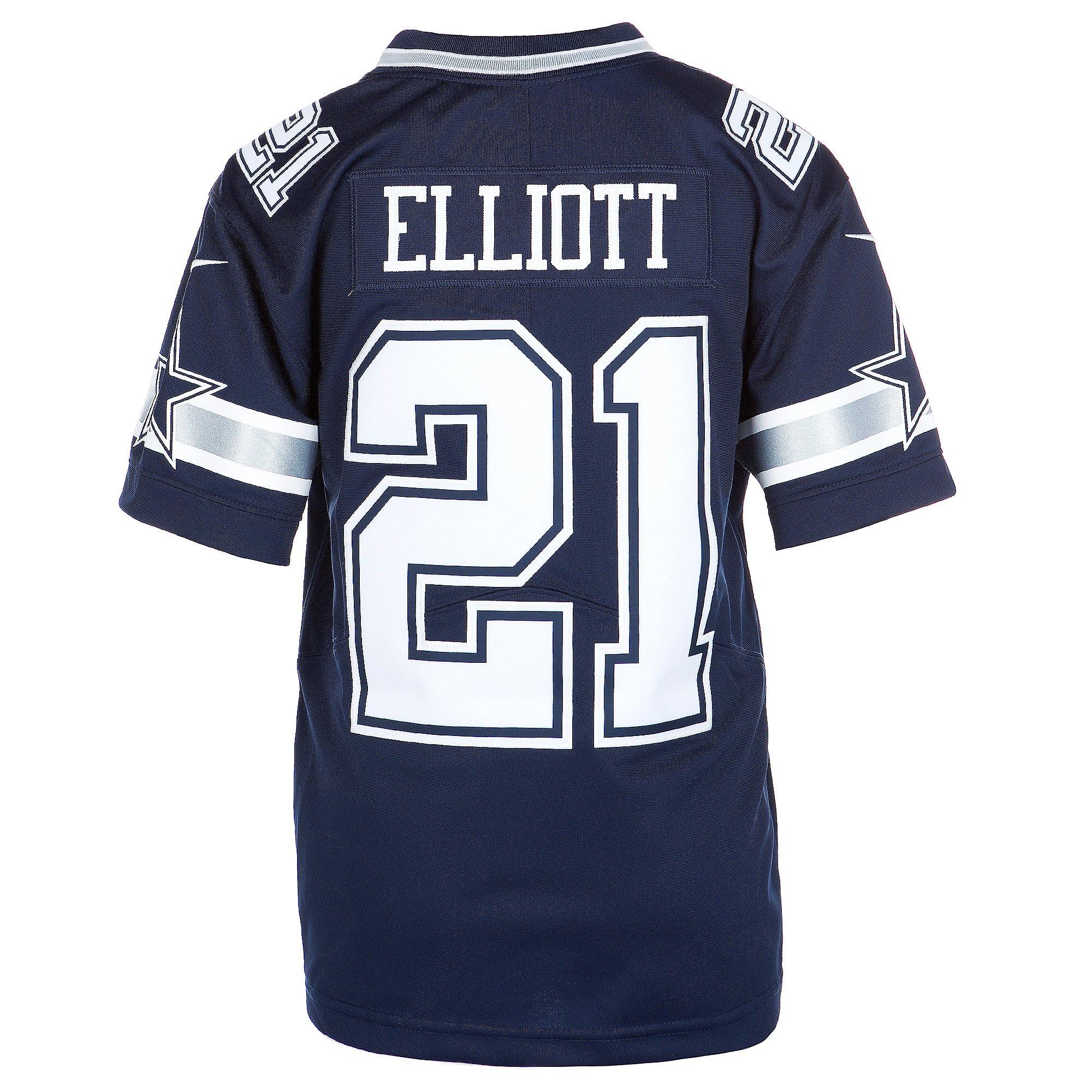 youth elliott cowboys jersey