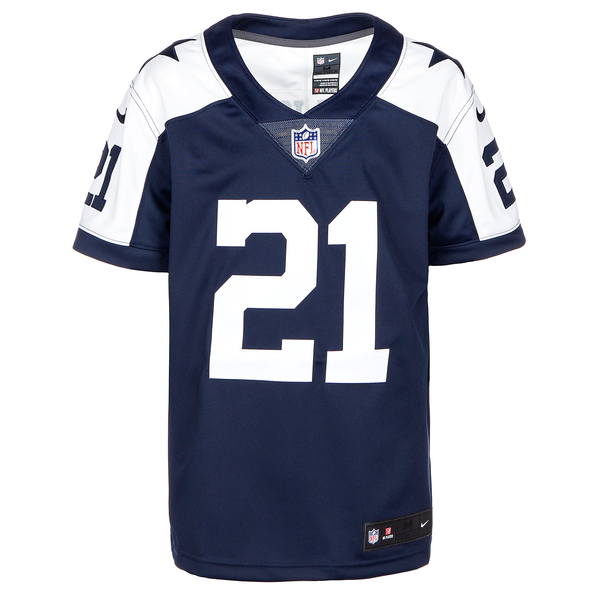 new styles bb9d3 faac6 Dallas Cowboys Youth Ezekiel Elliott Nike Limited Throwback ...