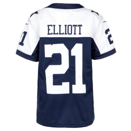 dallas cowboys youth throwback jersey