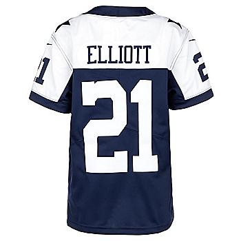Dallas Cowboys Youth Ezekiel Elliott #21 Nike Limited Throwback Jersey