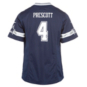 Dallas Cowboys Girls Dak Prescott #4 Nike Game Replica Jersey