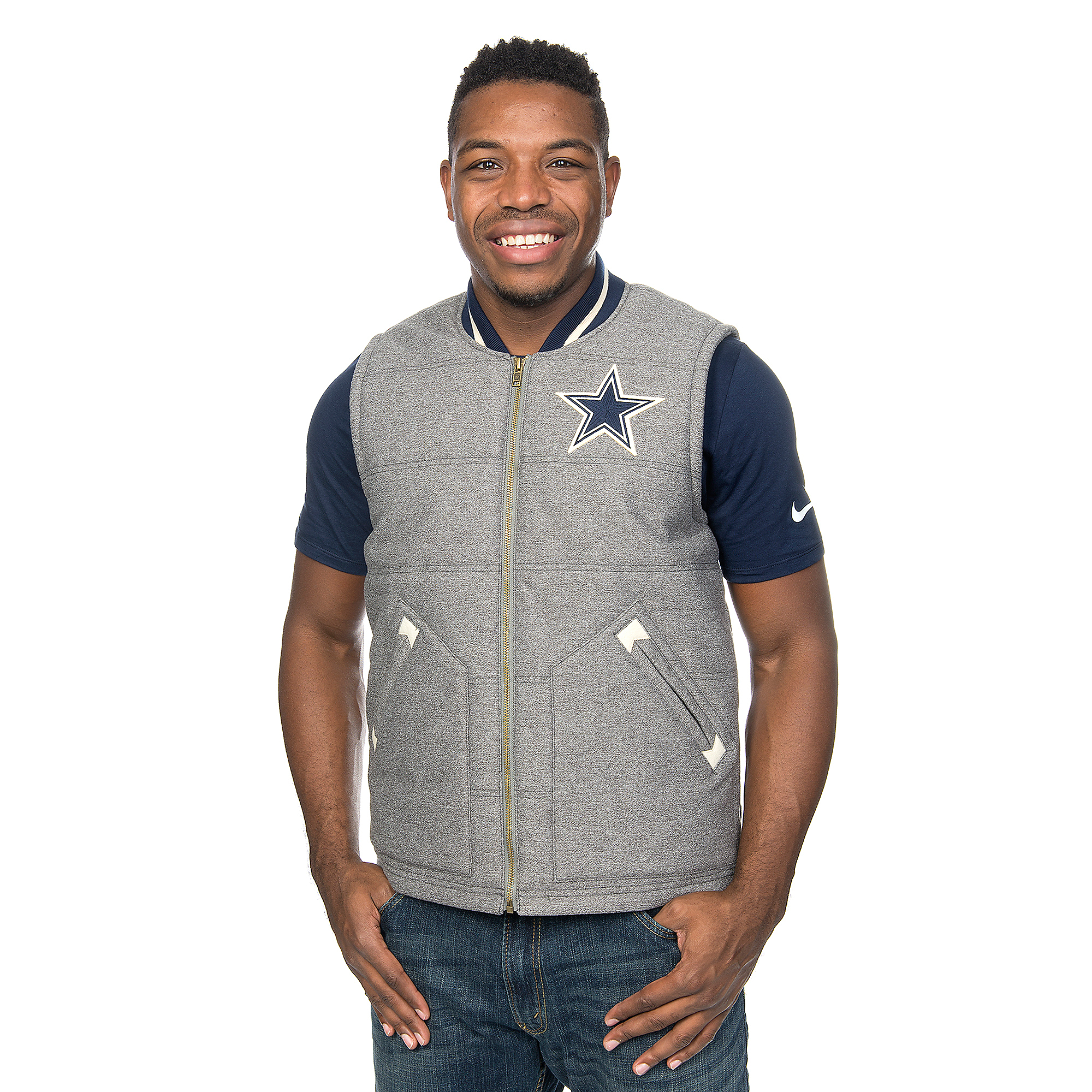 Dallas Cowboys Mitchell & Ness Margin of Victory Vest