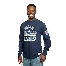 Dallas Cowboys Mitchell & Ness Keeping Score Long Sleeve Tee