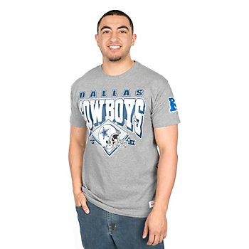 Dallas Cowboys Mitchell & Ness Downfield Short Sleeve Tee