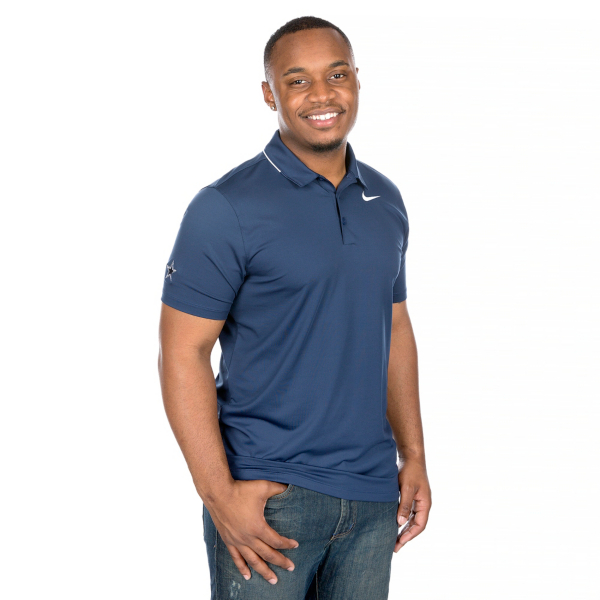 Dallas Cowboys Nike Golf Dry Solid Polo
