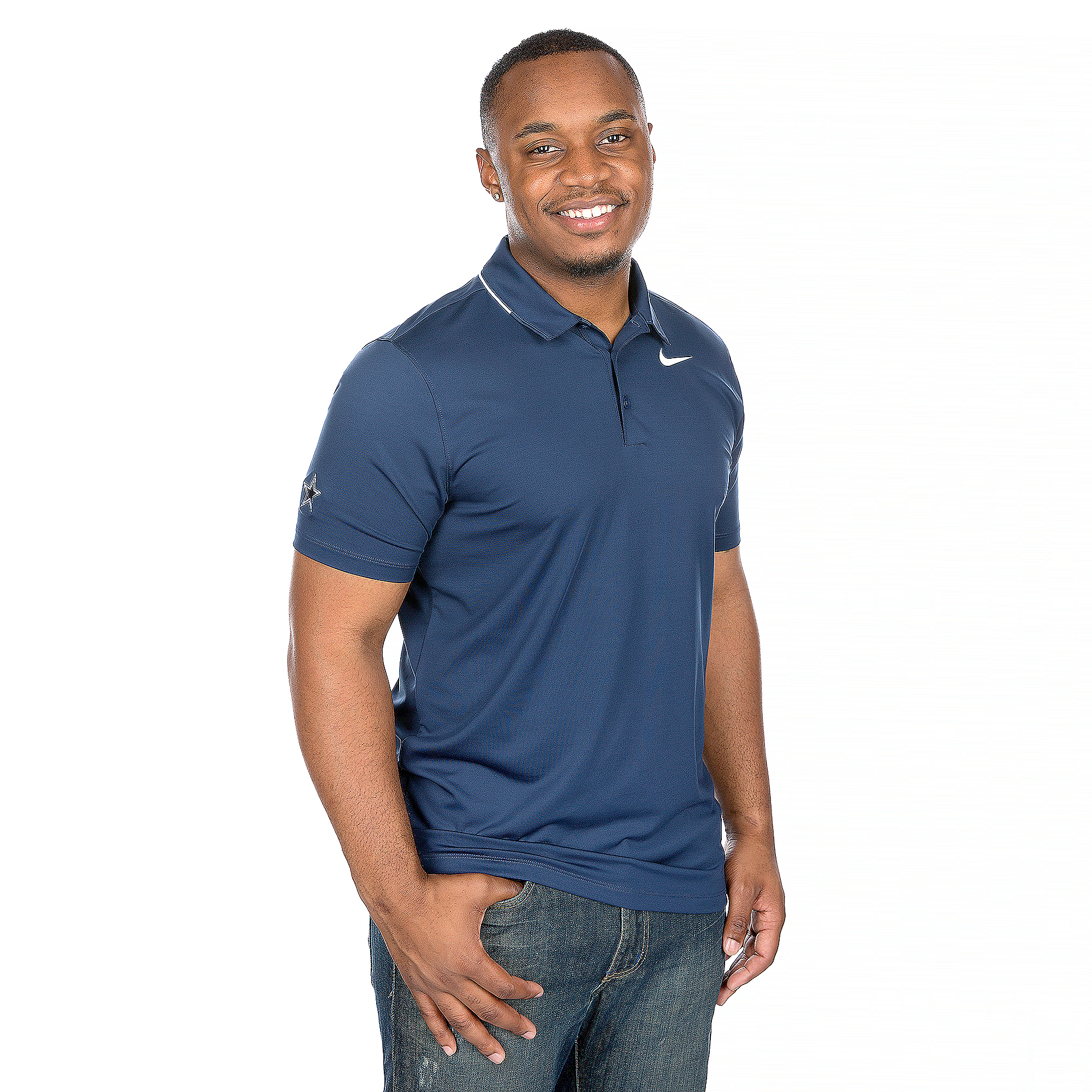 Dallas Cowboys Nike Golf Dri-FIT Solid Polo
