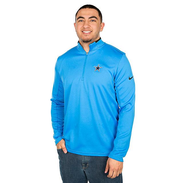 Dallas Cowboys Nike Dry Half-Zip Golf Top