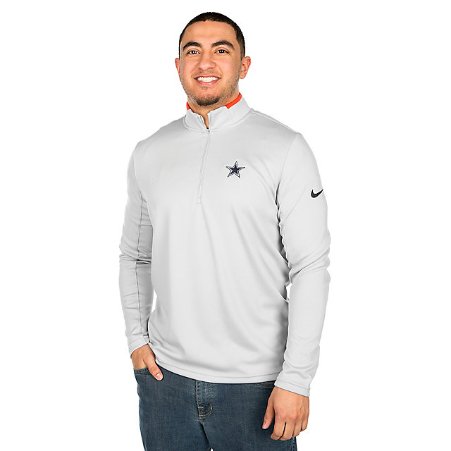 Dallas Cowboys Nike Dry Half-Zip Golf Top