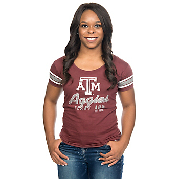 Texas A&M Aggies 47 Off Campus Scoop Tee