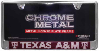 Texas A&M Aggies Domed Insert License Plate Frame