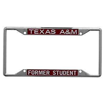 Texas A&M Aggies Acrylic Alumni Slogan License Plate Frame